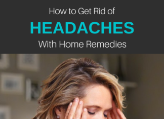 how to get rid of a headache with home remedies
