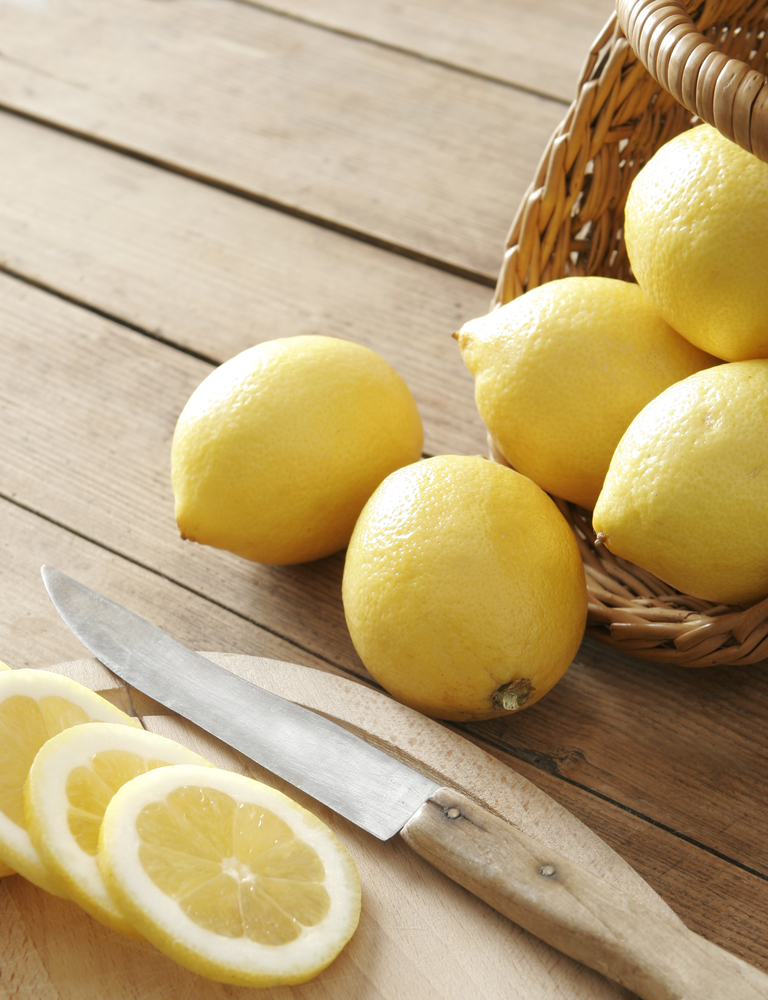 lemons- how to get rid of a strep throat