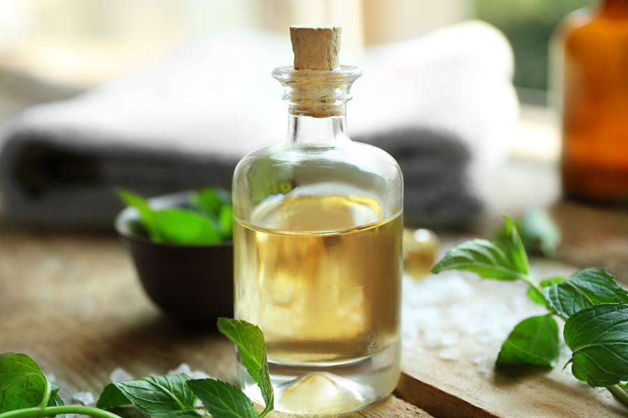 spearmint essential oil for headaches