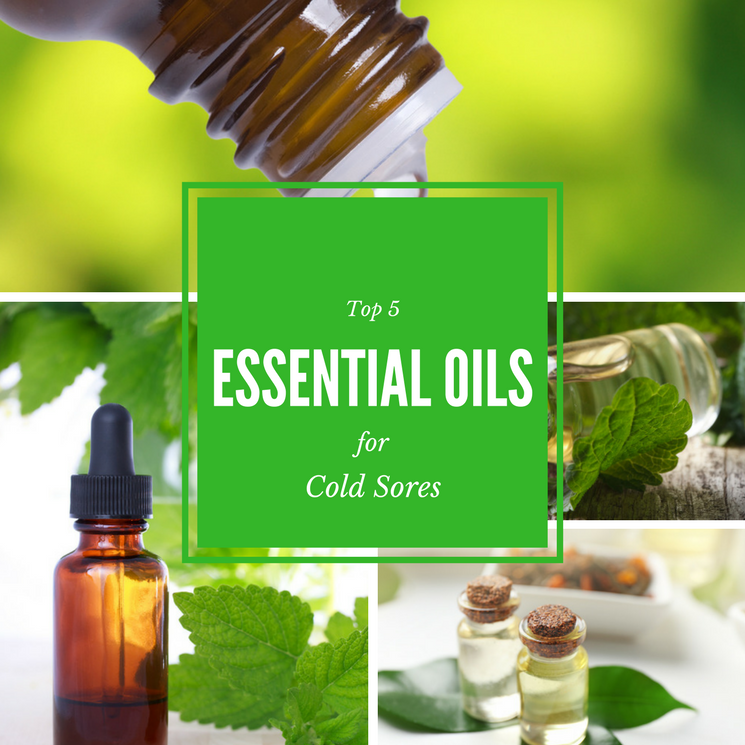 Essential Oils for Cold Sores: Top 5 and How to Use Them